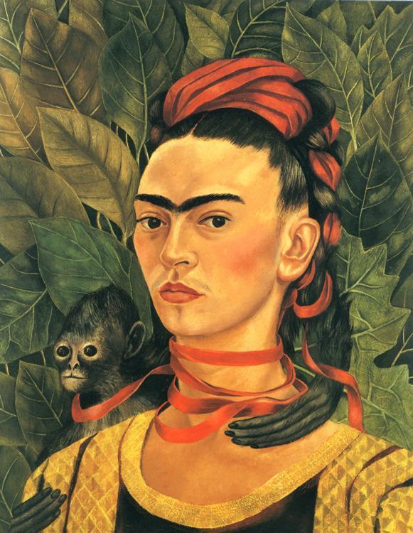Frida Kahlo - Autoportet