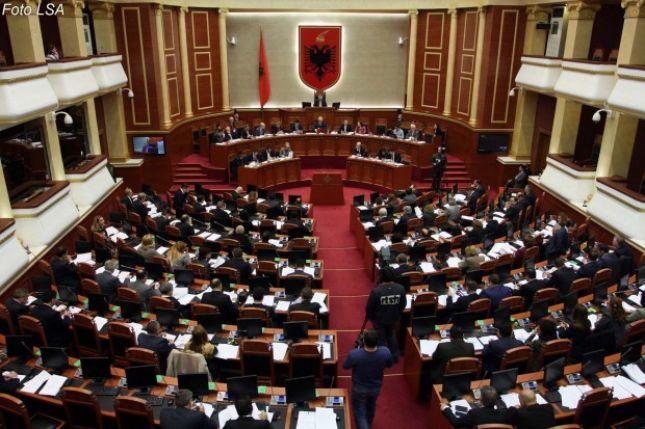 Seance e Kuvendit popullor shqiptar