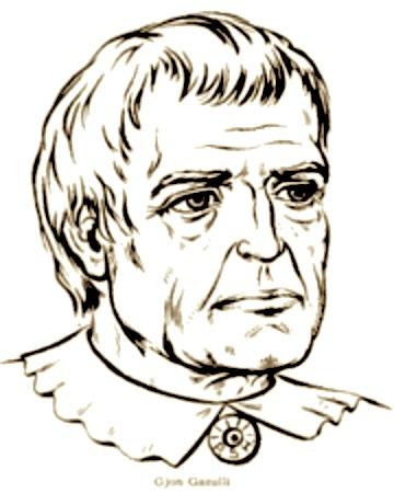 Gjon Gazulli i Madh - Astronomi