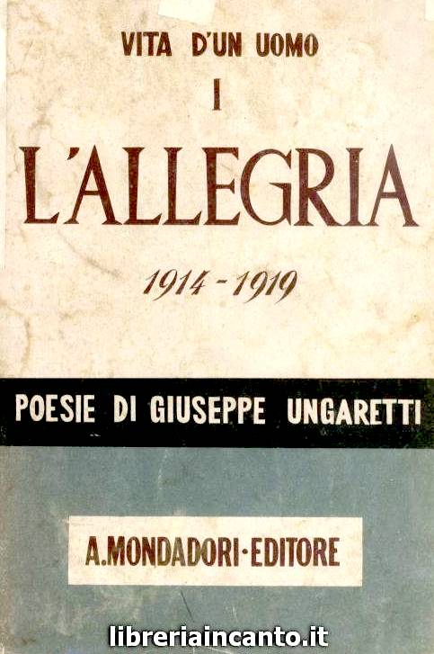Giuseppe Ungaretti - Alllegria