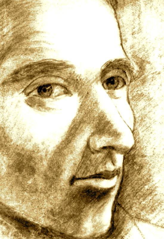 Portret i Genc Pervizit (nga Lek Pervizi)
