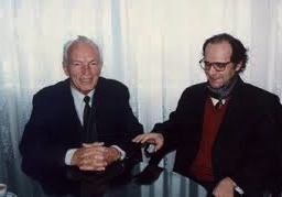 Profesoret Mark Krasniqi dhe Ibrahim Rugova