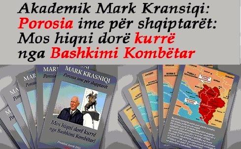Mark Krasniqi - Porosia ime për Shqiptarët