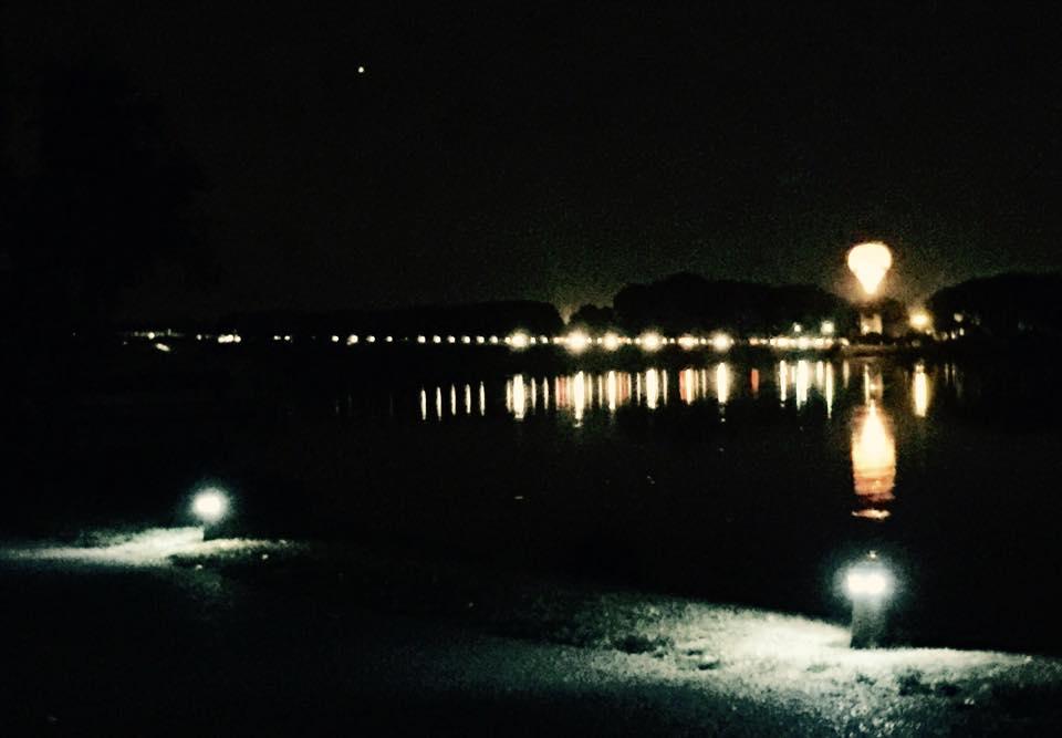 Nate e mbi liqenin e Mantovas
