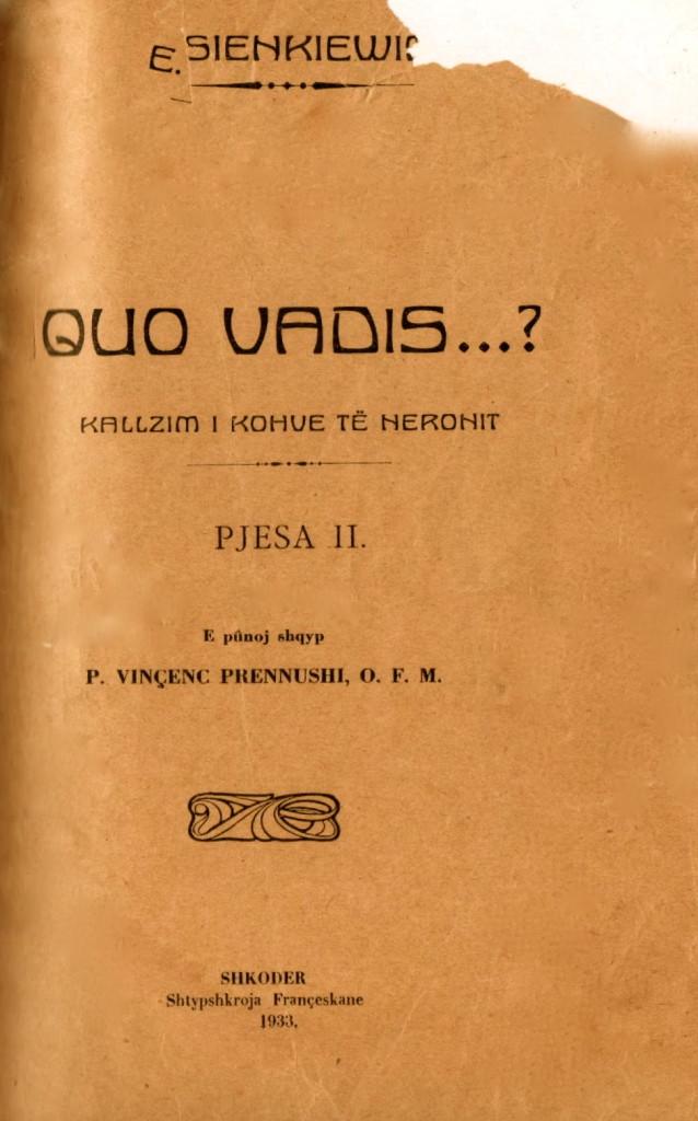 Quo Vadis? - Henryk Siekiewicz 2 - Prennushi