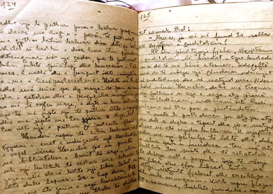 Lazer Radi - fragment nga dorshkrimet e tij - Saver 1986