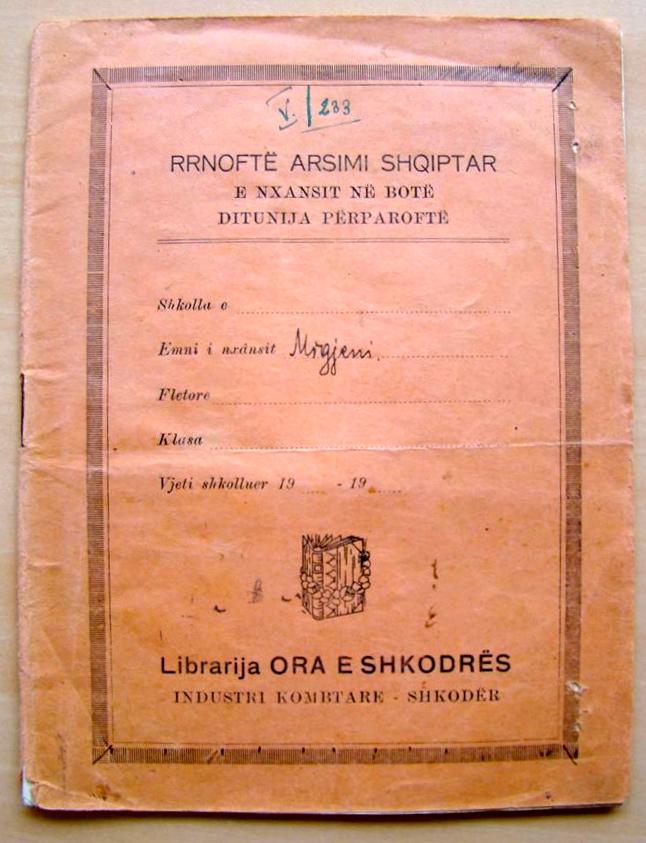 Migjeni - Kapaku i fletores se Dorshkrimeve