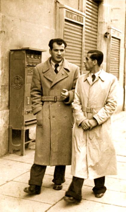 Lazer Radi e Gino Lanzillotta - Rome 1941