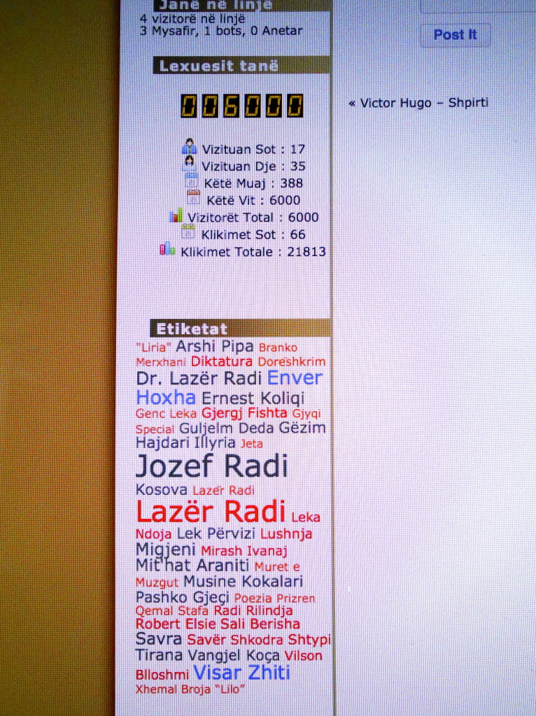 radiandradi.com... pjesa informative - Tetor 2013