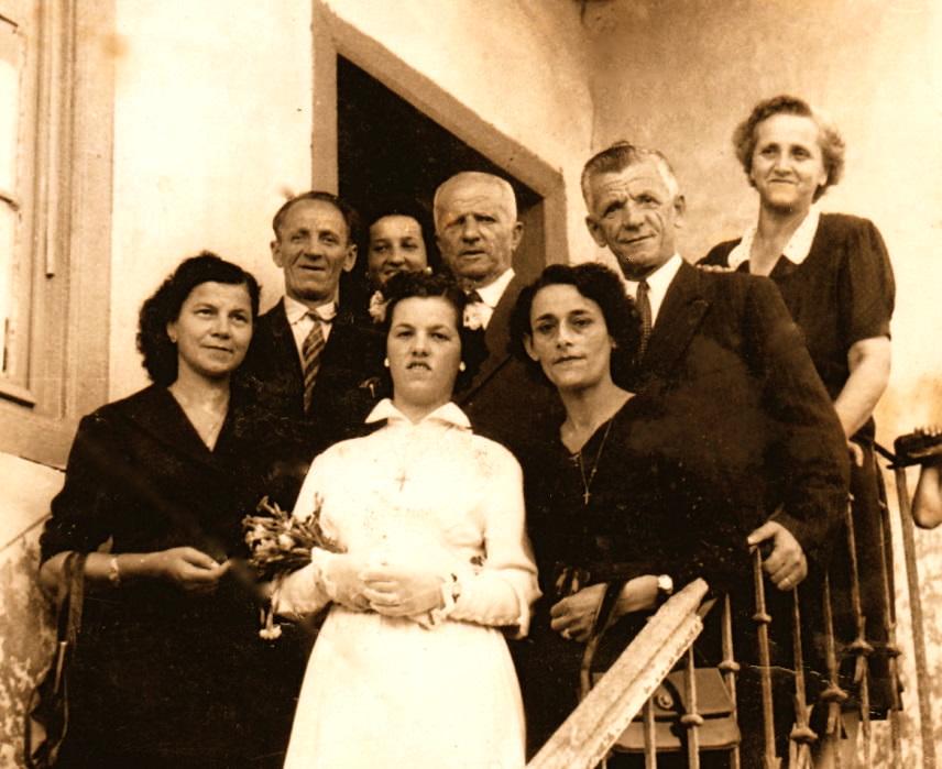 Dasma e vajzes se dajes Kel Vila Antoni dhe Stefa, Balto dhe Roza
