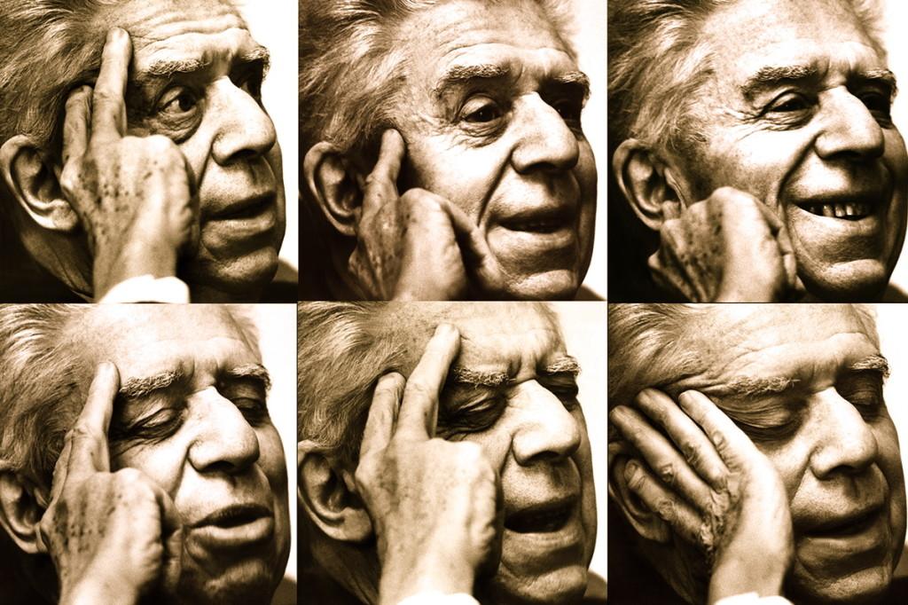 Montale Eugenio Shkrimtar Nobelist, Fotografuar ne shtepine e tij...