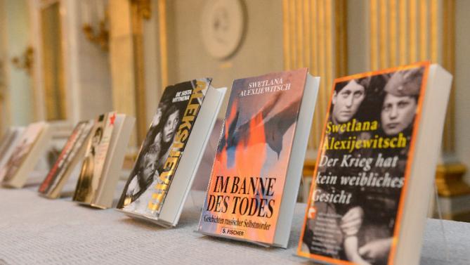 Svetlana Alexievich - Botime  te saj