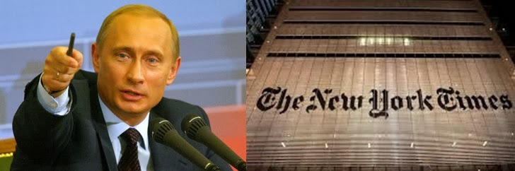 Putin dhe The New York Times