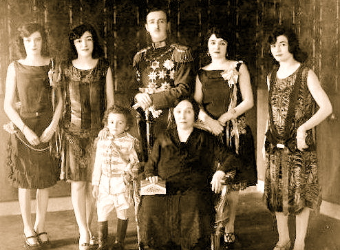 Familja e Ahmet Zogut