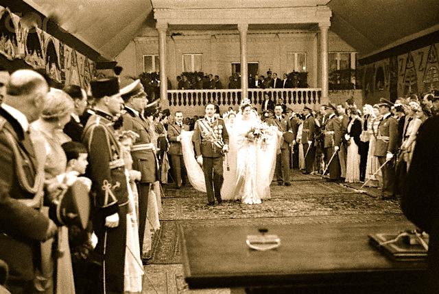 Dasma e Ahmet Zogu - Ceremonia e nenshkrimit 1938
