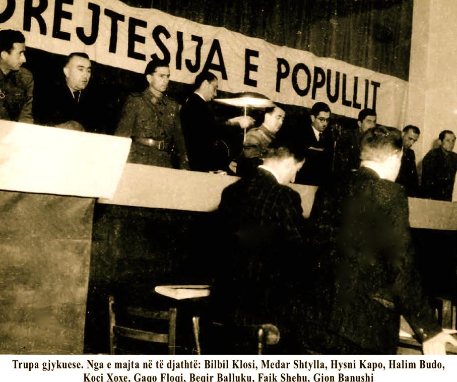 "Trupi Gjykues i ""Gjyqit Special"" 1945"