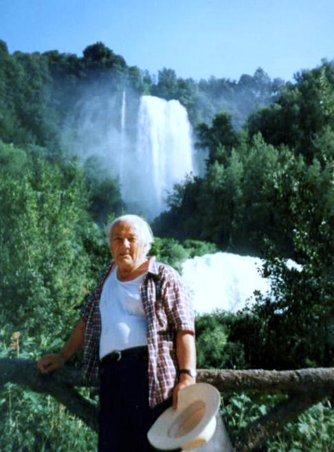 Lazer Radi, Cascade delle Mormore - Terni, korrik 1991Terni