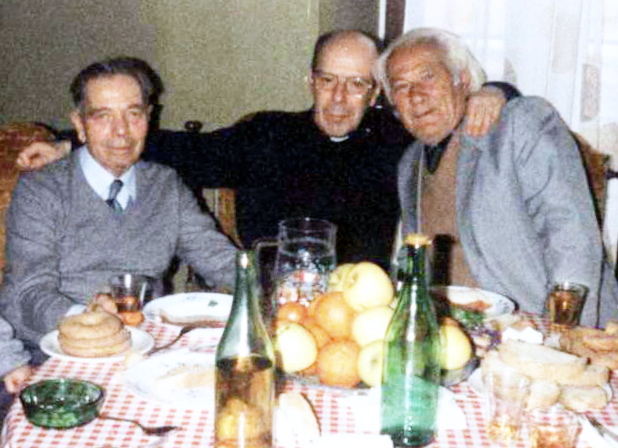 Lazer Radi me Augusto Previtalin dhe don Salvatoren - Genazno 1991