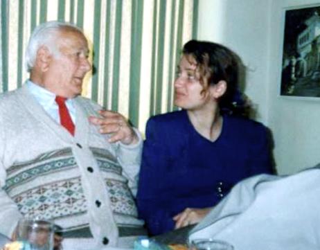 Lazër Radi dhe pianistja Ermira Zyrakja - Zvicër 1995
