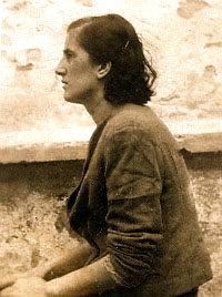 Viktoria Radi 1952 - foto e arkivit te Ministrisë së Brendëshme
