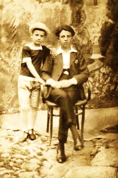 Lazri dhe Vëllai i tij Antoni - Prizren 1924