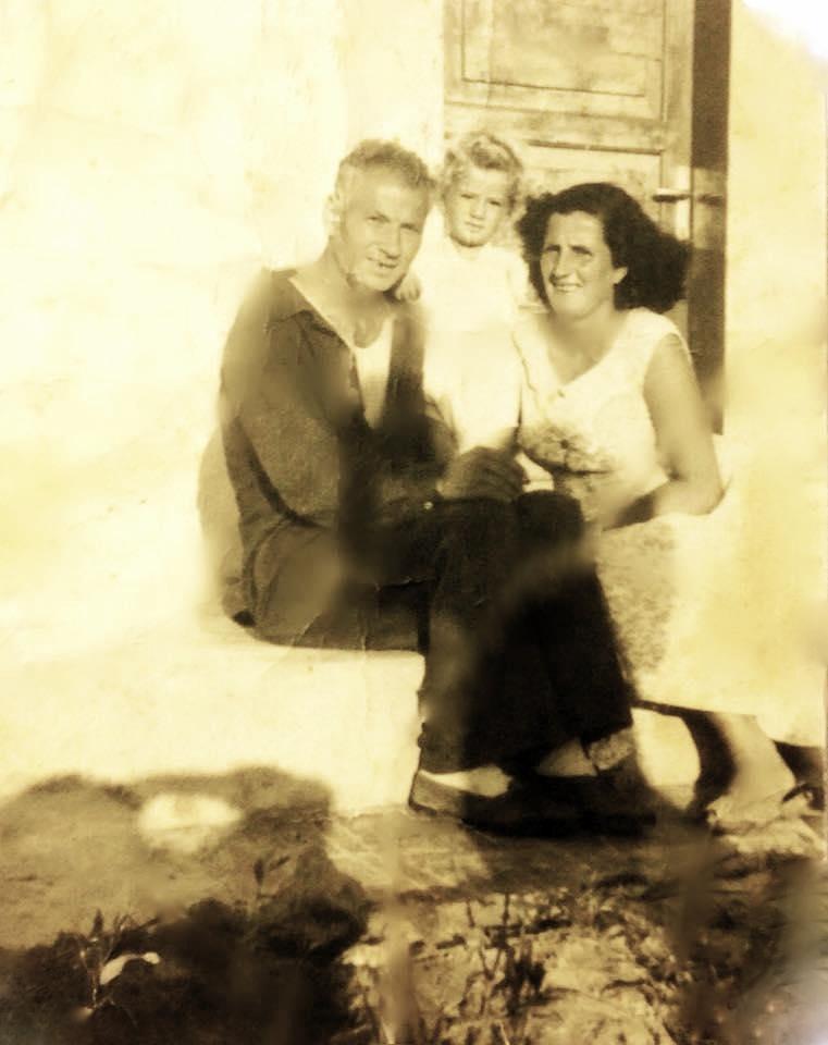 Lazer, Vitore dhe Jozef Radi - Kampi i çermes 1959