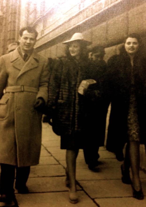 Lazër Radi e Claudia - Roma mars 1942