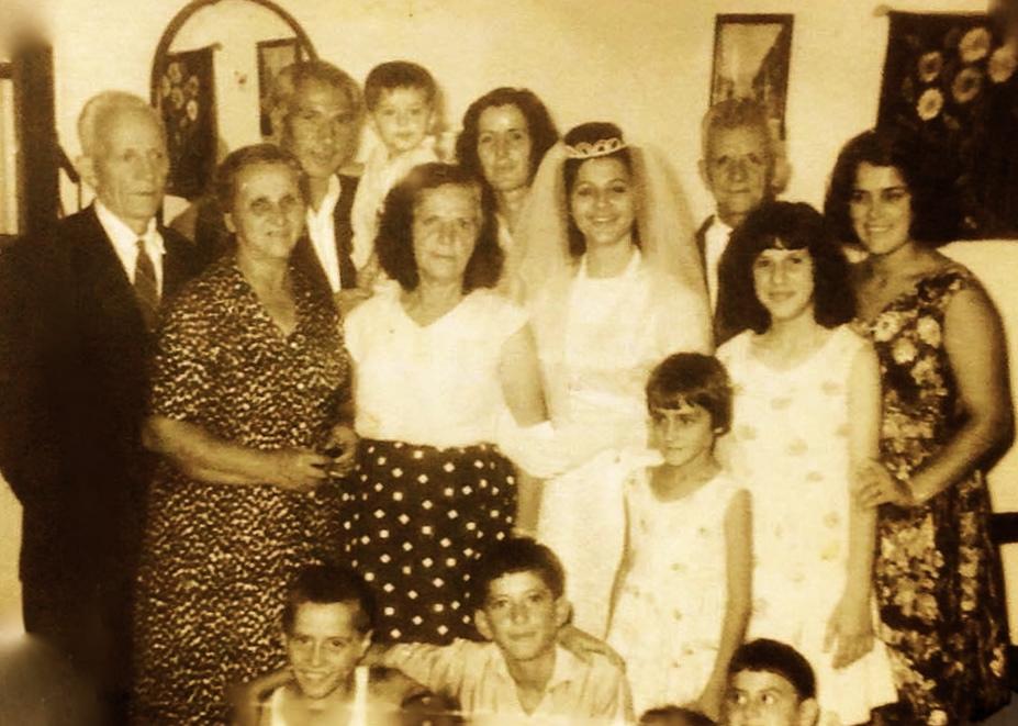 Foto e fundit e tre vellezerve Radi dhe motres së bashku Dasma e Terezinës - Tiranë 1969
