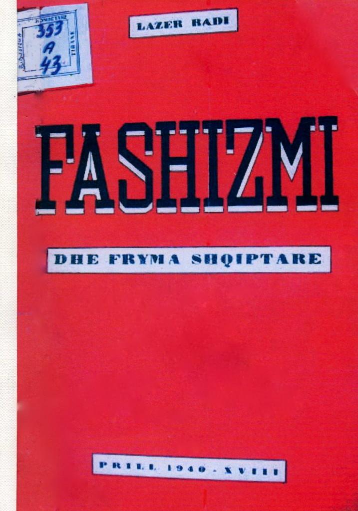 Fashizmi dhe Fryma Shqiptare - 1940