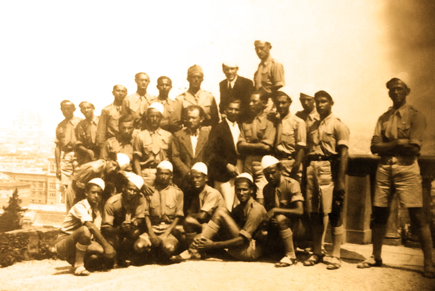 Firenze 1937 - Studente shqiptare