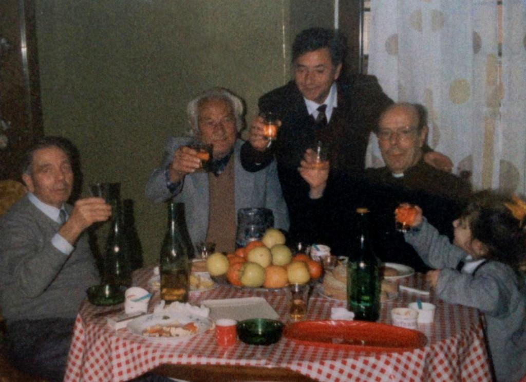 Lazri, Dine Dine dhe miku i tij Augusto Previtali - Romё, korrik 1991
