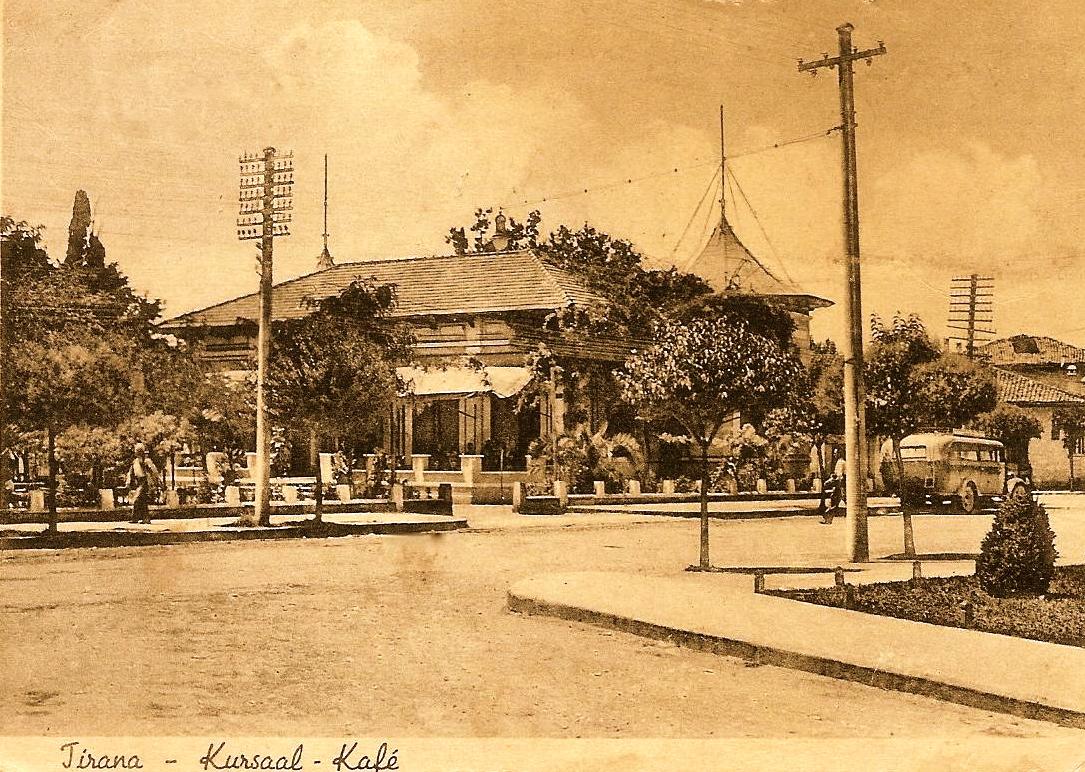 Tirana vitet '30 - Kafe Kursal