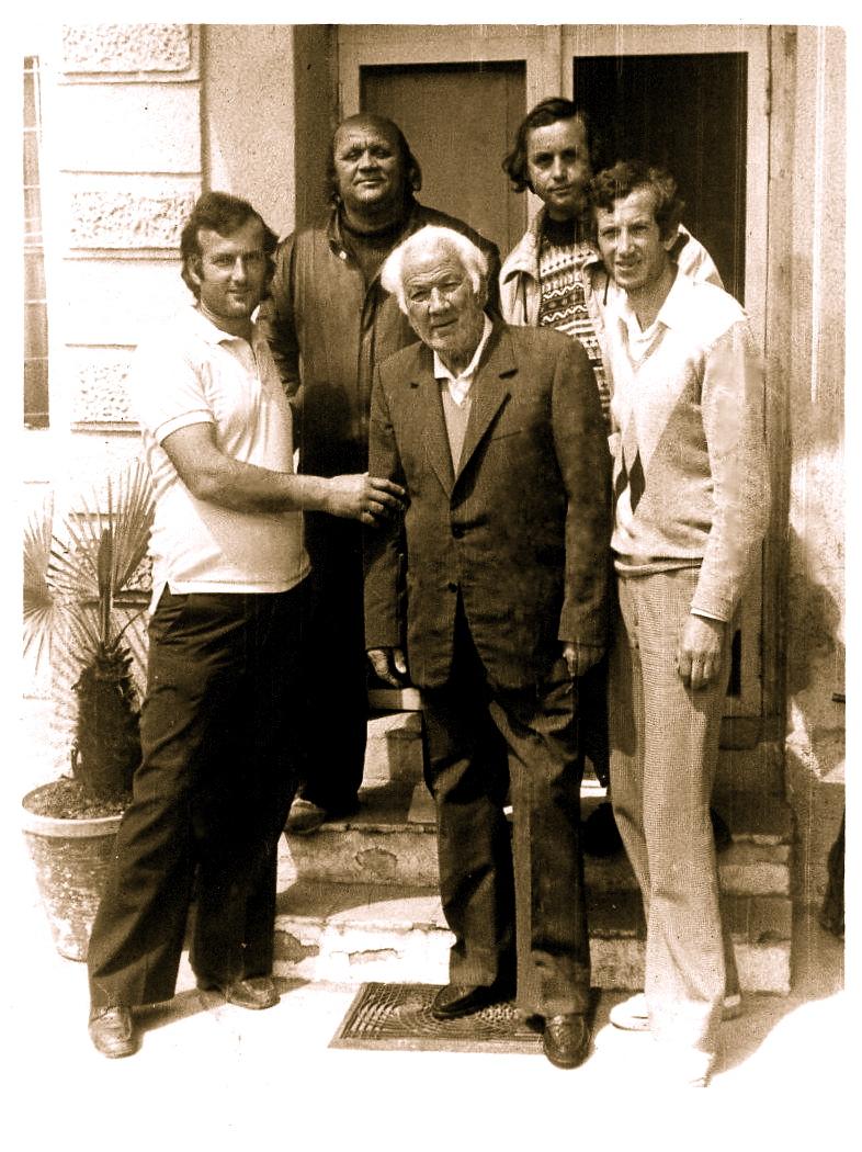 Lazer Radi me djemte Jozefin dhe Luciano dhe nipat Ferdinad dhe Françesko - Tirane 1991