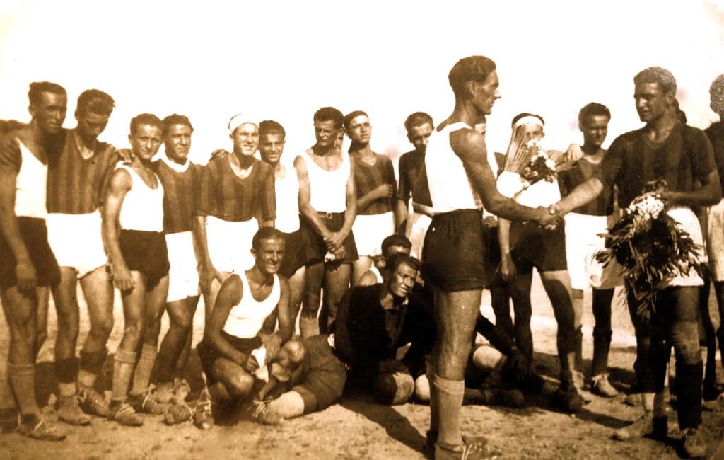 Rome 1937 - Anzio - Studentet Shqiptare 1-3
