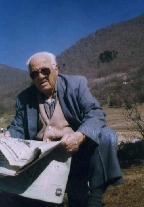 Lazër Radi - shetitje në Malin e Dajtit 1997