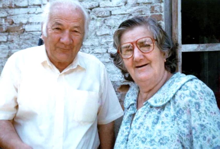 Lazër dhe Vitore Radi - Tiranë 1992
