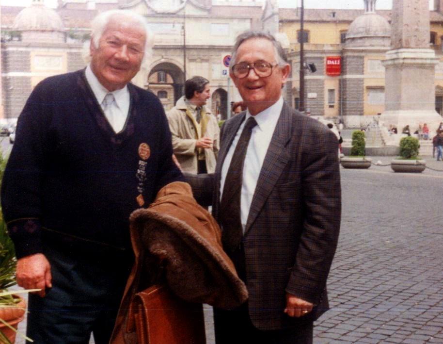 Lazer Radi dhe Albert Akshia - Rome 1991