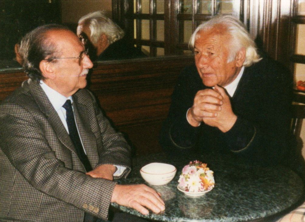 Lazer Radi e Gino Lanzillotta - Rome 1991