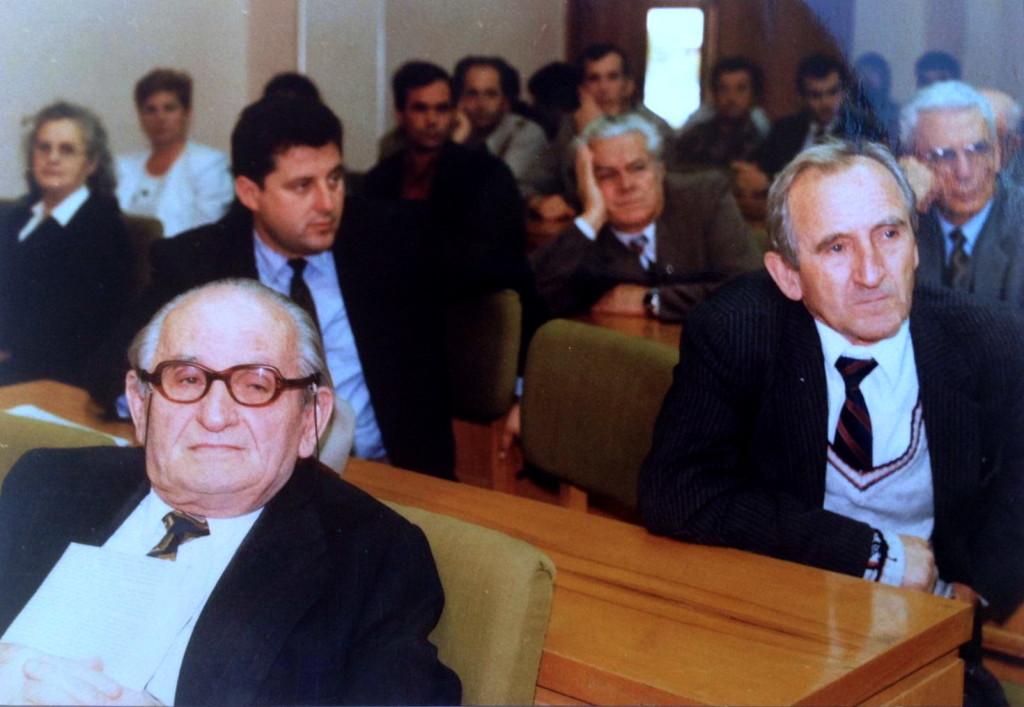 Muzeu Historik Kombëtar - 5 tetor 1996 - Simpozium i mbajtur me rastin e 80-vjetorit të Lazër Radit
