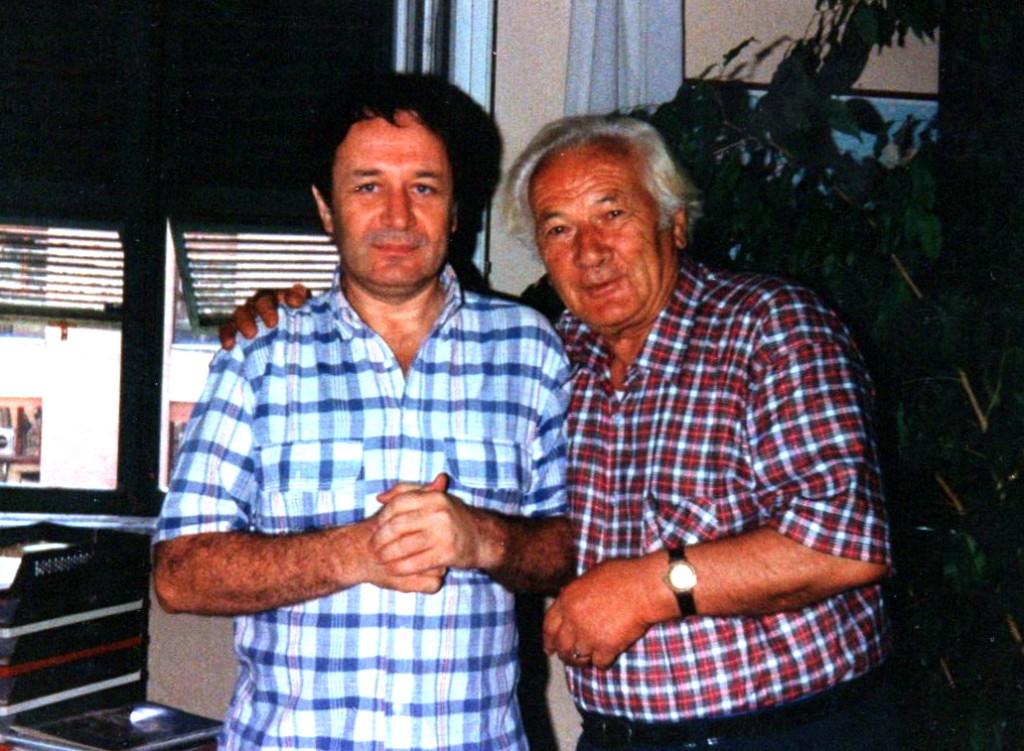 Lazri dhe Andrea Anderman (Pronari i Radafilm) - Romё 9 korrik 1991