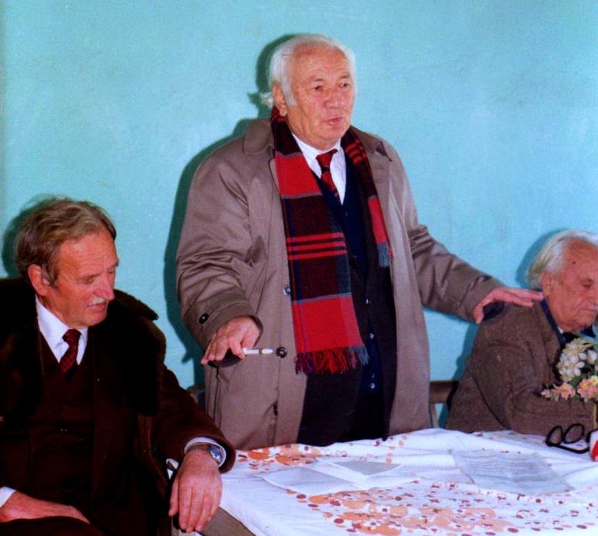 Qazim Kreka, Lazёr Radi, Kamber Xheria - Formimi i Degёs sё Lёvizjes Kombёtare Shqiptare - 8 shkurt 1993