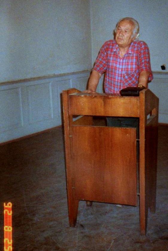 Nё Lidhjen e Shkrimtarёve - Tiranё, 25 gusht 1992