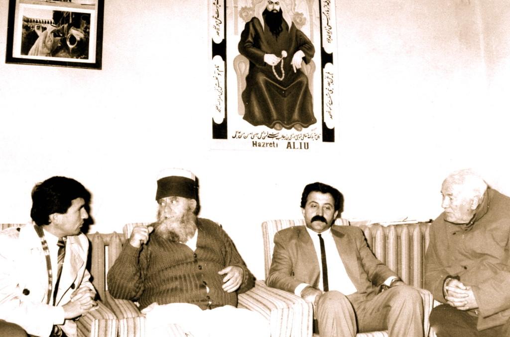 Te Baba Reshat Bardhi - Tiranё, 21 dhjetor 1991