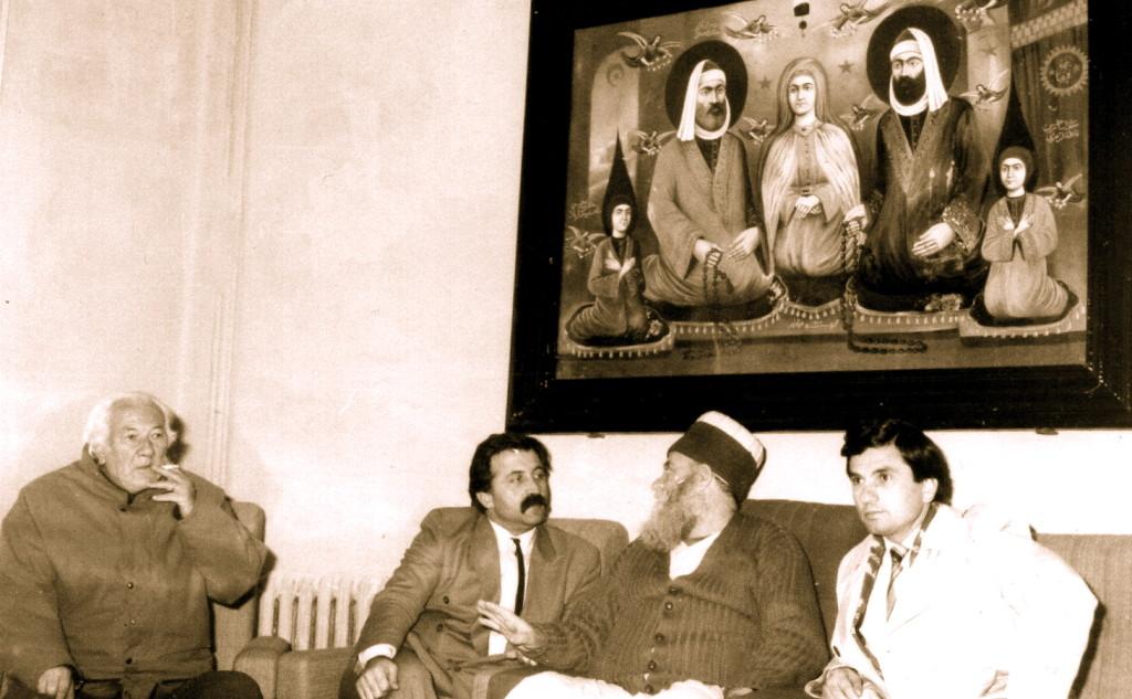Nё Kryegjyshatё te Baba Reshat Bardhi Lazri, M. Jaku, I. Beqiri - Tiranё 21 dhjetor 1991