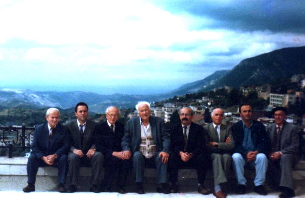 Agim Musta, Qerim Lajçi, Ymer Dishnica, Lazёr Radi, Mujё Rrugova, Hazir Shala, Imer Ademi, Sami Mulaj,