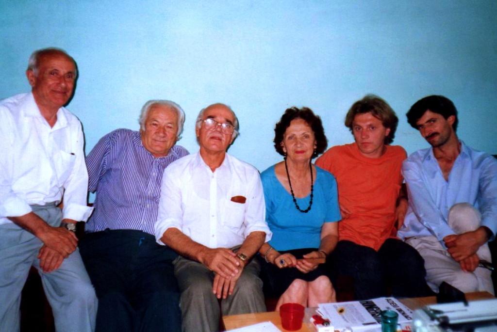Kamber Xheria, Lazёr Radi, Hazir Shala Liza Vorfi, Heidi Konig, Shaip Zeqiri - Tiranё 1993