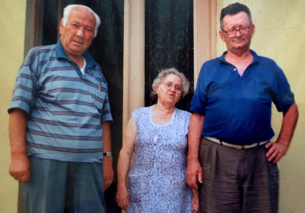 Lazёr Radi me mbesёn Ninen e tё shoqin Janosh Illes - Opatija, Korrik 1996