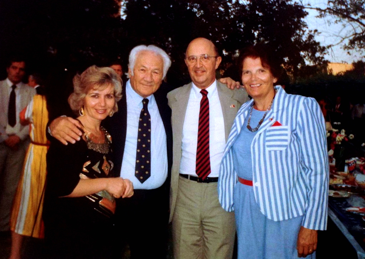 Wiliam Rayerson me te shoqen dhe Lazer dhe Tefta Rad
