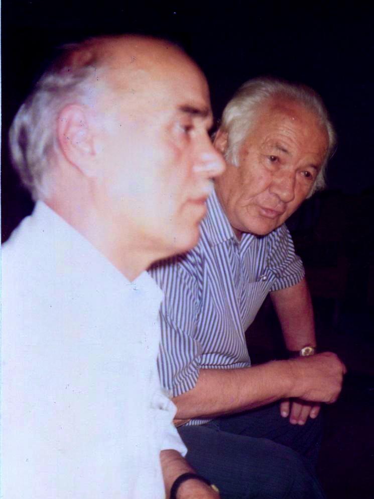Lazёr Radi, Hazir Shala - Bashkimi i Shkrimtarёve tё pavarur nё Pallatin e Kulturёs - Tiranё gusht 1992