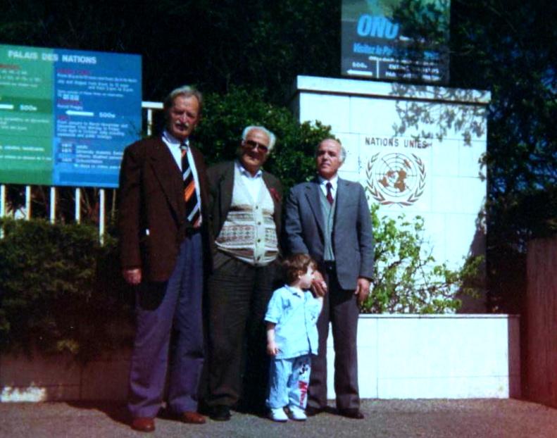 Qazim Kreka, Lazёr Radi e Hazir Shala para Natione Unite - Zvicёr, mars 1994